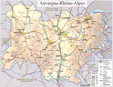 Grenoble ecobiz nouvelle r gion auvergne rh ne alpes for Superficie grenoble